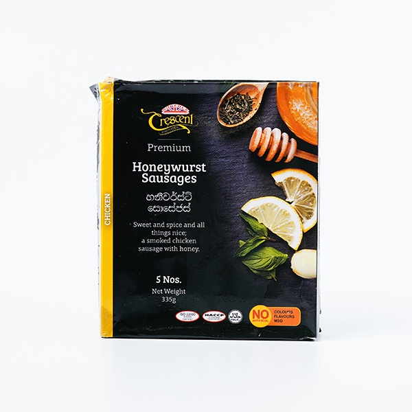 Crescent Smokies Honeywurst Chicken Sausage 335g - in Sri Lanka