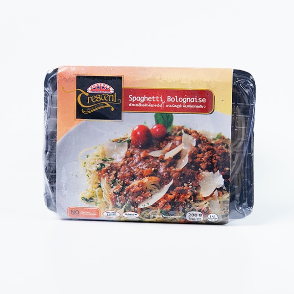 Crescent Spaghetti Bolognese 200G - CRESCENT - Frozen Ready To Eat Meals - in Sri Lanka