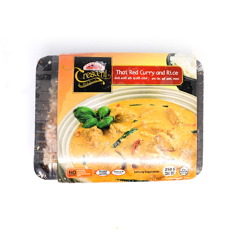 Crescent Thai Chicken Rice 250G - CRESCENT - Frozen Ready To Eat Meals - in Sri Lanka