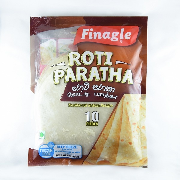 Finagle Roti Paratha 600G - FINAGLE - Frozen Ready To Cook Snacks - in Sri Lanka