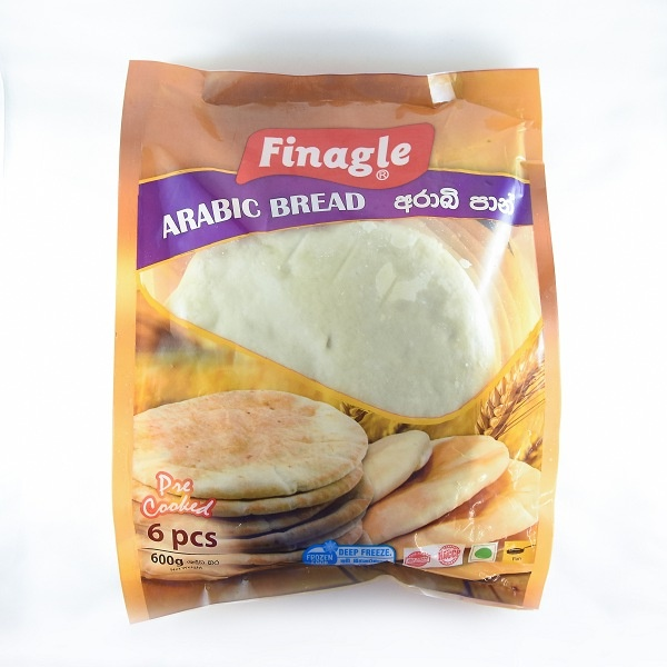 Finagle Bread Arabic 600G - in Sri Lanka