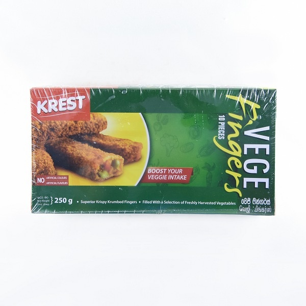 Keells/ Krest Vegetable Finger 250g - in Sri Lanka