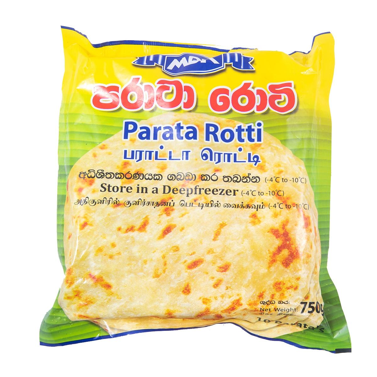Mdk Paratha 10pcs 750g - in Sri Lanka