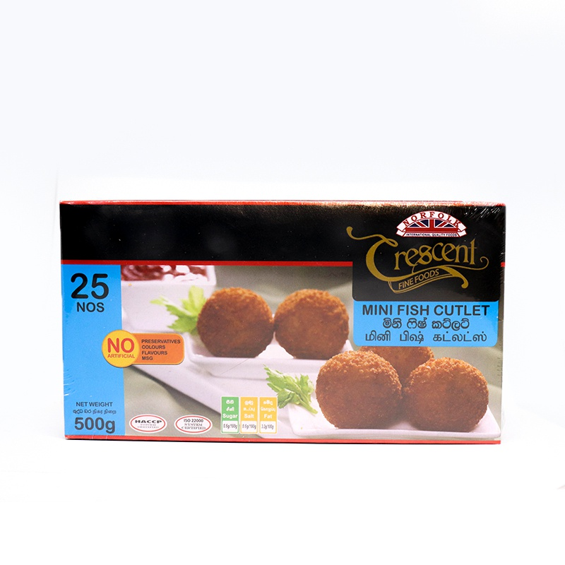 Crescent Mini Fish Cutlets 500g - in Sri Lanka