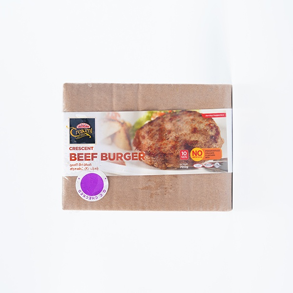 Crescent Burger Beef 700G - CRESCENT - Frozen Ready To Cook Snacks - in Sri Lanka