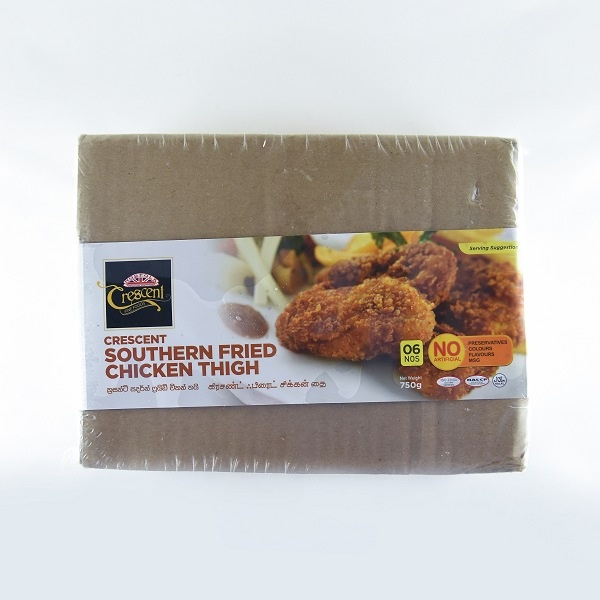 Crescent Chicken Fried Thigh 750G - CRESCENT - Frozen Ready To Cook Snacks - in Sri Lanka