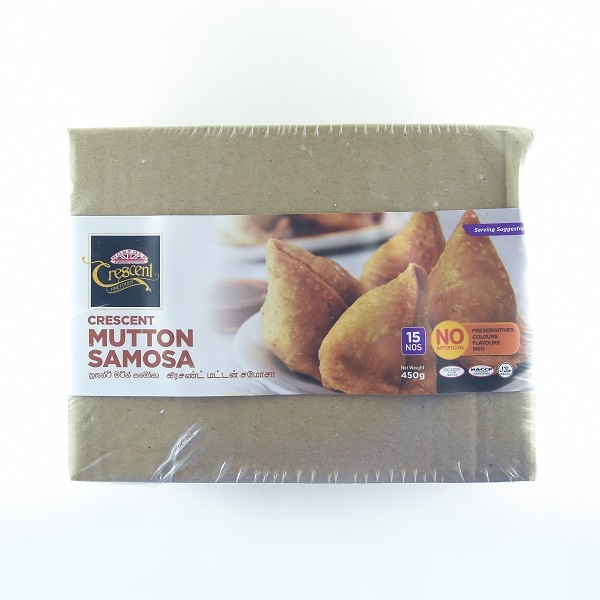 Crescent Samoosa Mutton 450G - CRESCENT - Frozen Ready To Cook Snacks - in Sri Lanka