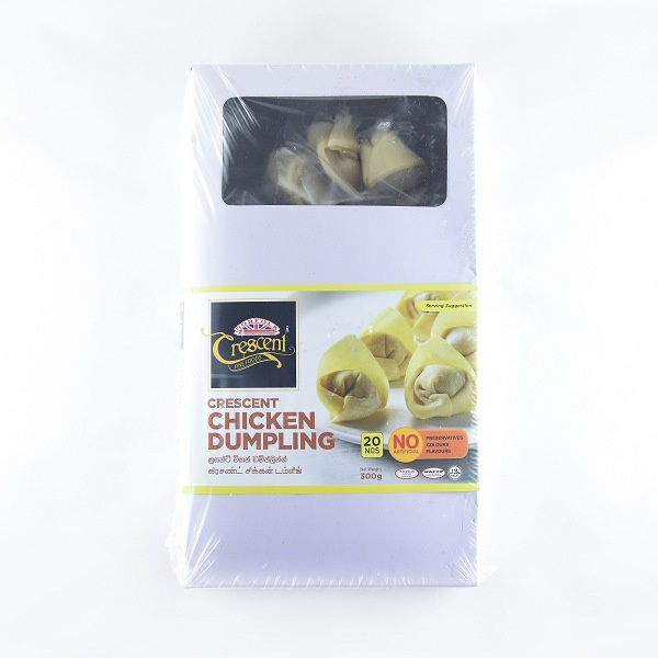 Crescent Dumpling Chicken 300G - CRESCENT - Frozen Ready To Cook Snacks - in Sri Lanka