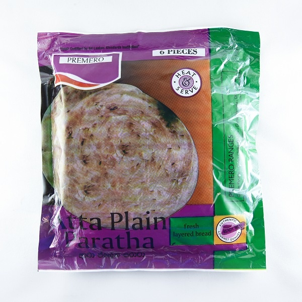 Premero Paratha Atta Plain 360G - PREMERO - Frozen Ready To Cook Snacks - in Sri Lanka