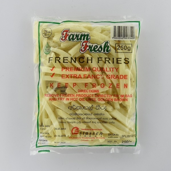 Farm Fresh French Fries 250G - in Sri Lanka