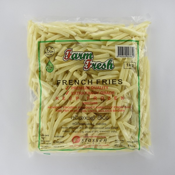 Farm Fresh French Fries 1Kg - in Sri Lanka