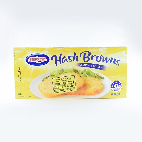 Birds Eye Hash Brown 375G - in Sri Lanka