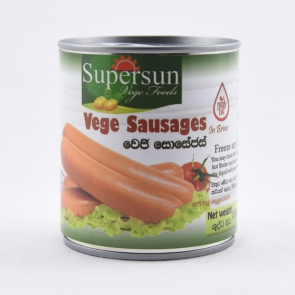Supersun Vege Sausage 150g - in Sri Lanka