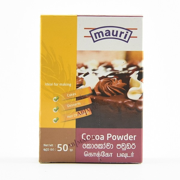 Mauri Cocoa Powder 50G - in Sri Lanka
