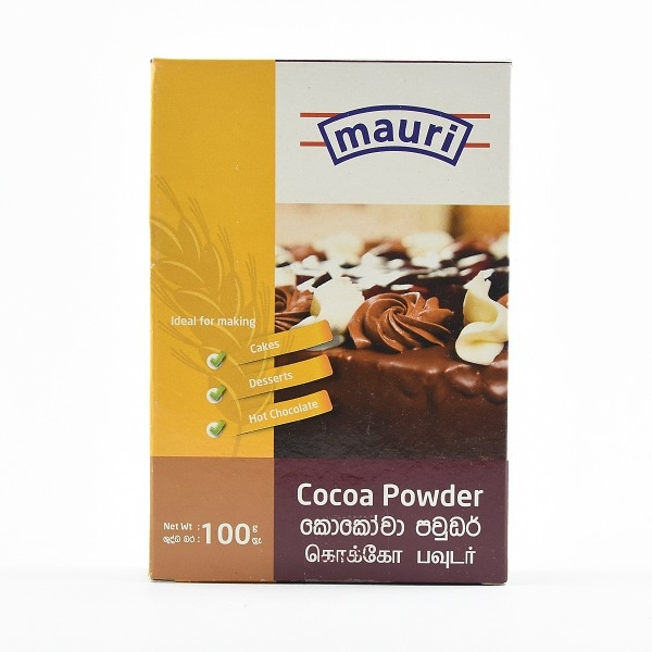 Mauri Cocoa Powder 100G - MAURI - Dessert & Baking - in Sri Lanka