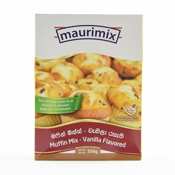 Maurimix Muffin Mix Vanilla 350G - in Sri Lanka