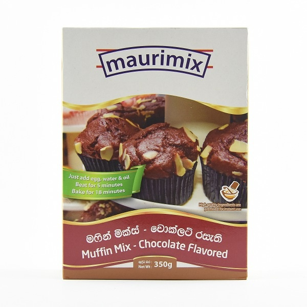 Maurimix Muffin Mix Chocolate 350G - in Sri Lanka