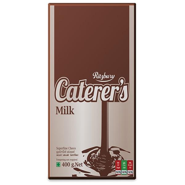 Ritzbury Super Fine Milk Cooking Chocolate 400g - in Sri Lanka