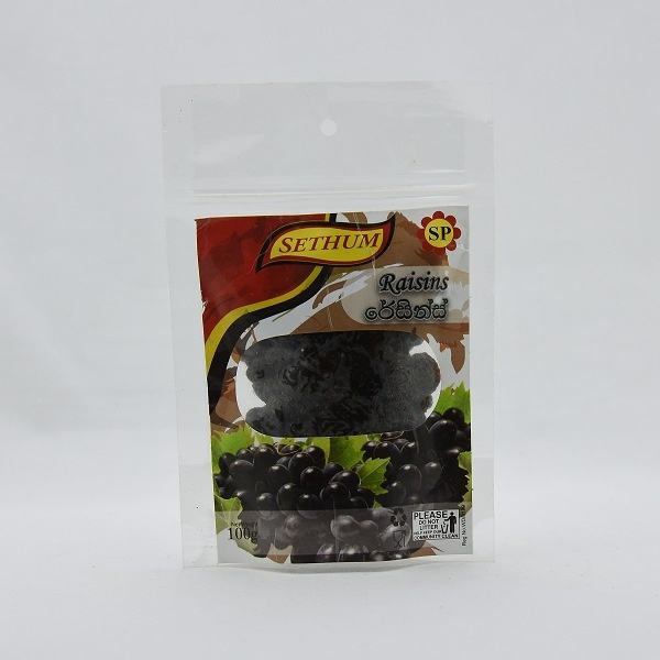 Sethum Raisins 100G - in Sri Lanka