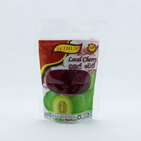 Sethum Cherry 200G - SETHUM - Dessert & Baking - in Sri Lanka