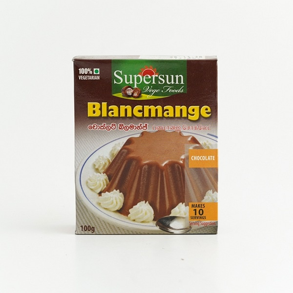 Supersun Chocolate Blamange 100g - in Sri Lanka