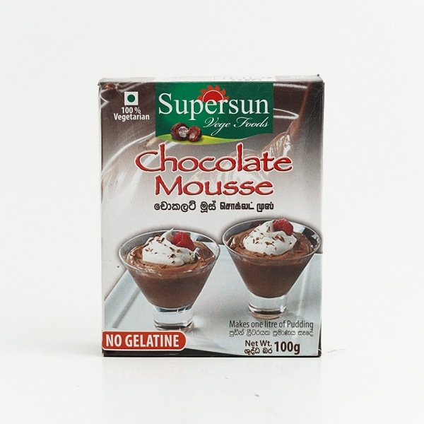 Supersun Chocolate Mousse 100g - in Sri Lanka
