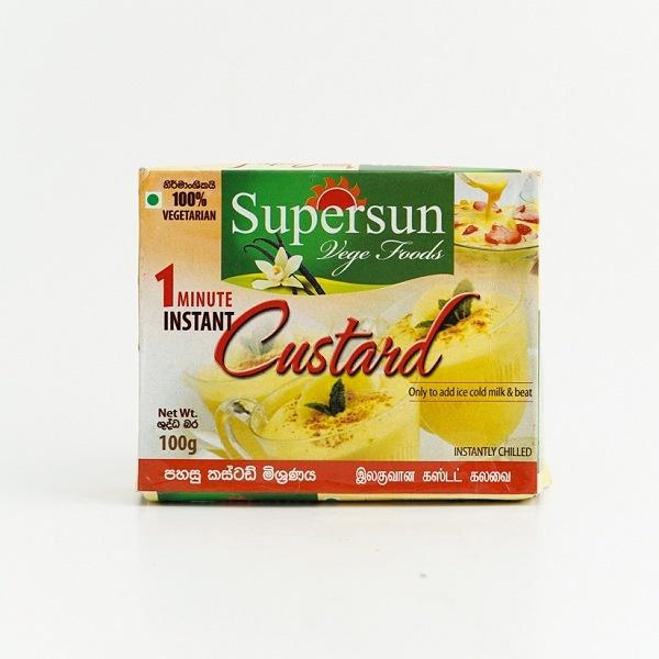 Supersun Vege Custard 100g - in Sri Lanka