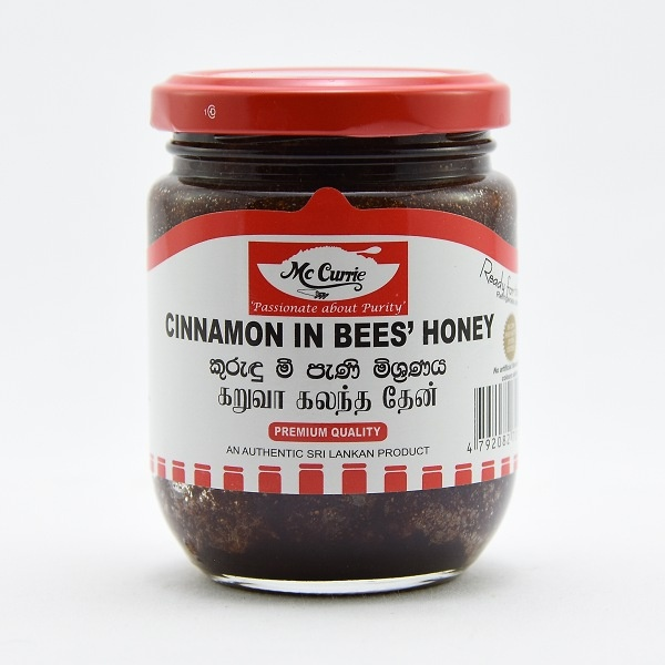 Mccurrie Cinnamon In Bee's Honey 225g - in Sri Lanka