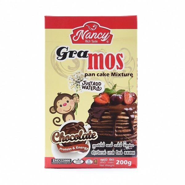 Nancy Gramos Chocolate Pan Cake Mix 200g - in Sri Lanka