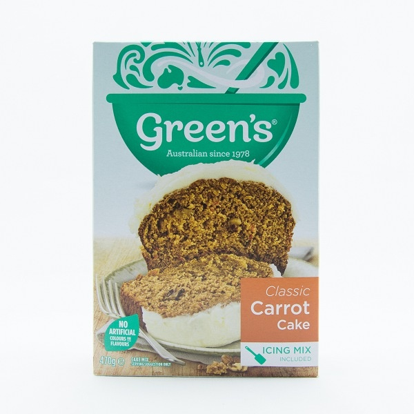 Green'S Carrot Cake Mix 470G - GREEN'S - Dessert & Baking - in Sri Lanka