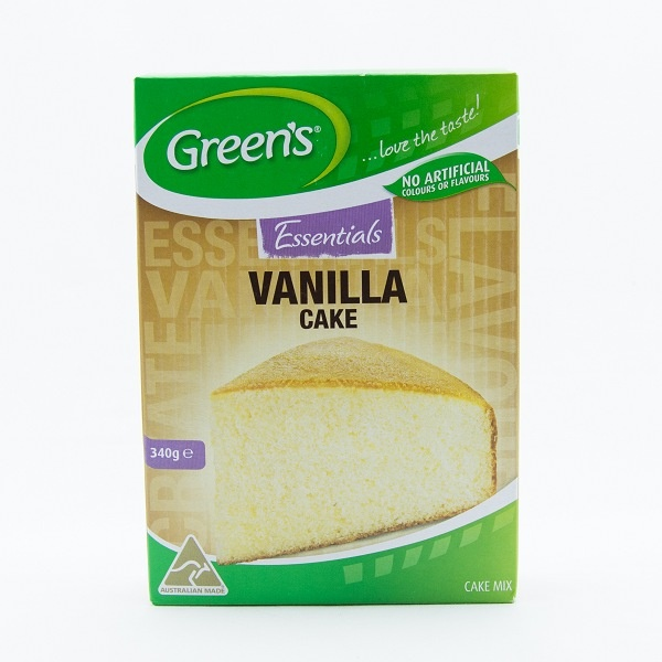 Green'S Vanilla Cake Mix 340G - GREEN'S - Dessert & Baking - in Sri Lanka