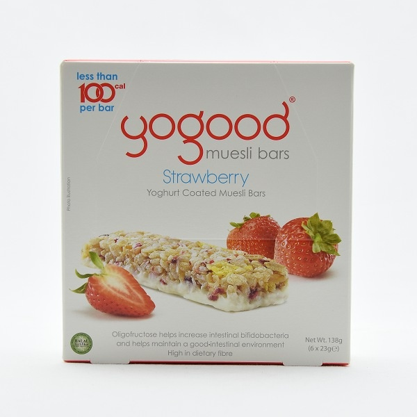 Yogood Strawbrry Cereal Bar Box 138g - in Sri Lanka