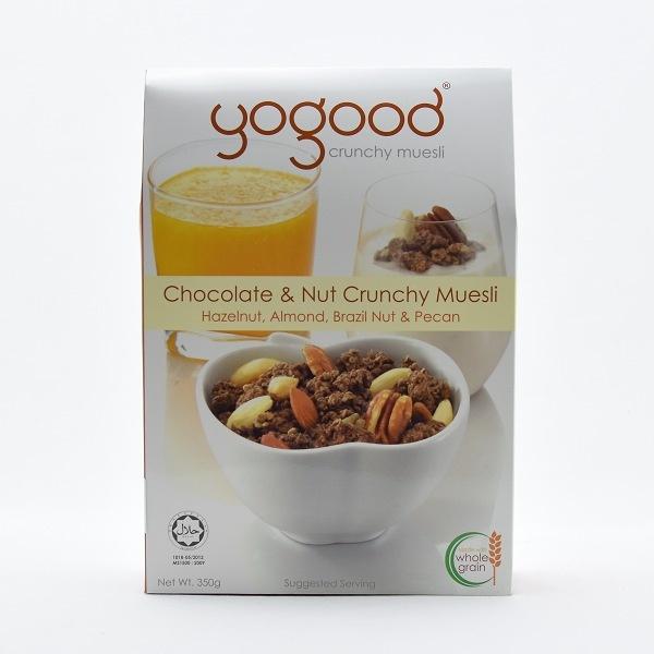Yogood Chocolate And Nut Crunchy Muesli 350g - YOGOOD - Cereals - in Sri Lanka