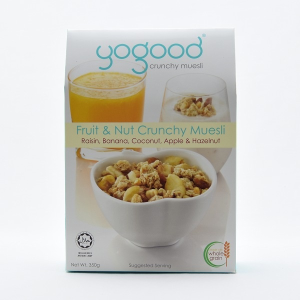 Yogood Fruit And Nut Crunchy Muesli 350g - YOGOOD - Cereals - in Sri Lanka