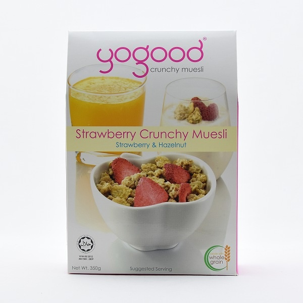 Yogood Strawberry Crunchy Muesli 350g - in Sri Lanka