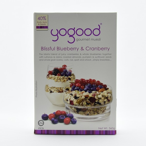 Yogood Blissful Bluberry Muesli 360g - in Sri Lanka