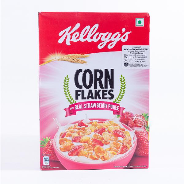 Kelloggs Corn Flakes Strawberry Flavour 275g - in Sri Lanka