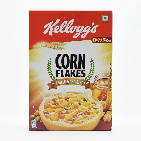 Kelloggs Almond Corn Flakes And Honey 300g - in Sri Lanka