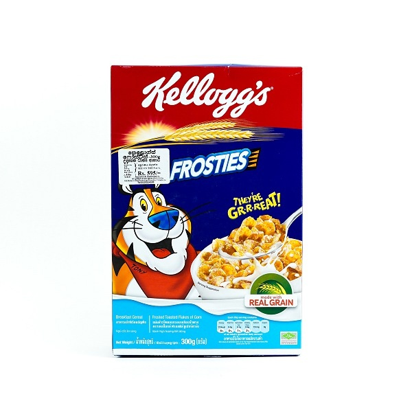 Kelloggs Frosties Cereal 300g - KELLOGGS - Cereals - in Sri Lanka