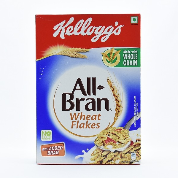 Kelloggs All Bran Wheat Flakes 425G - KELLOGGS - Cereals - in Sri Lanka
