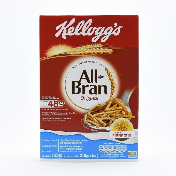 Kelloggs All Bran Cereal 315g - in Sri Lanka