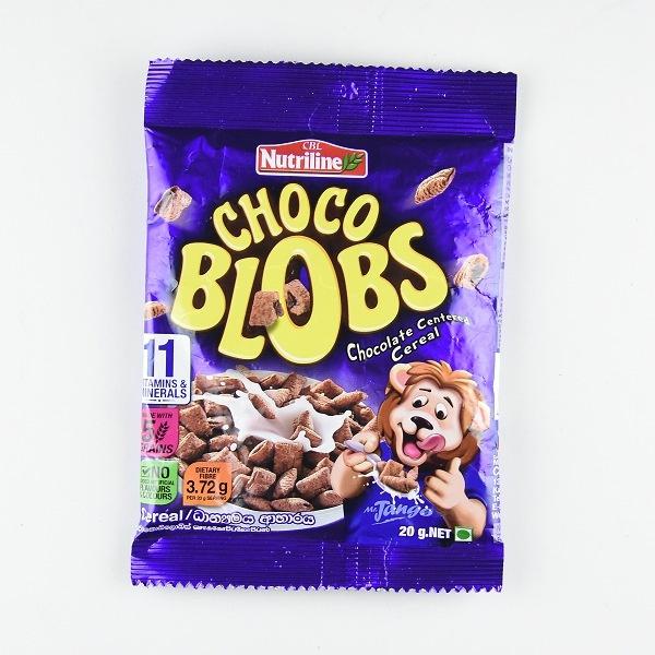 Nutriline Chocoblobs Cereal 20g - in Sri Lanka