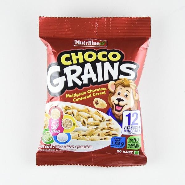 Nutriline Chocograin Cereal 20g - in Sri Lanka