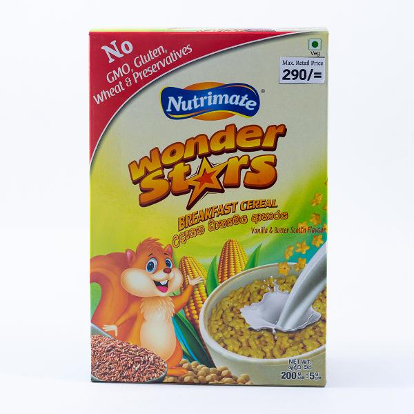 Nutrimate Wonderstar Cereal Box 200g - in Sri Lanka