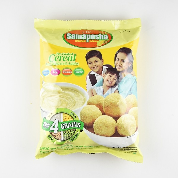 Samaposha Cereal 500g - SAMAPOSHA - Cereals - in Sri Lanka