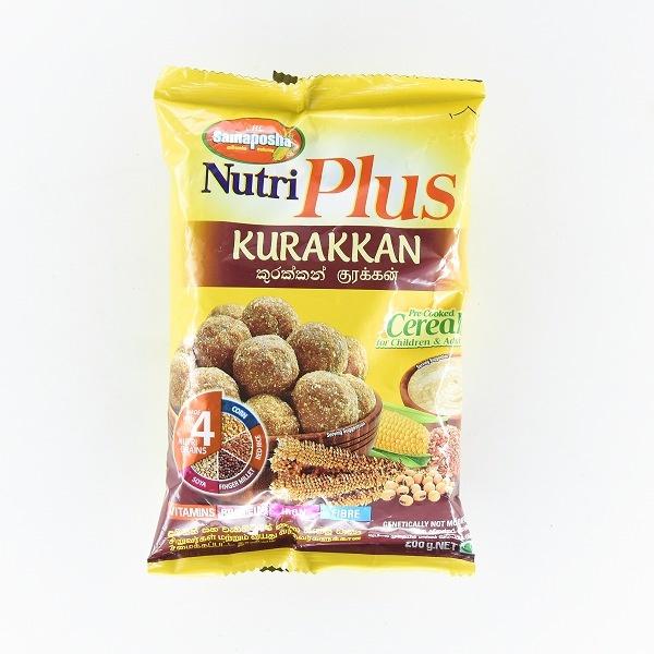 Samaposha Nutriplus Kurakkan Cereal 200g - SAMAPOSHA - Cereals - in Sri Lanka