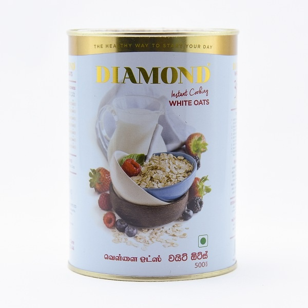 Diamond Oats Tin 500G - DIAMOND - Cereals - in Sri Lanka