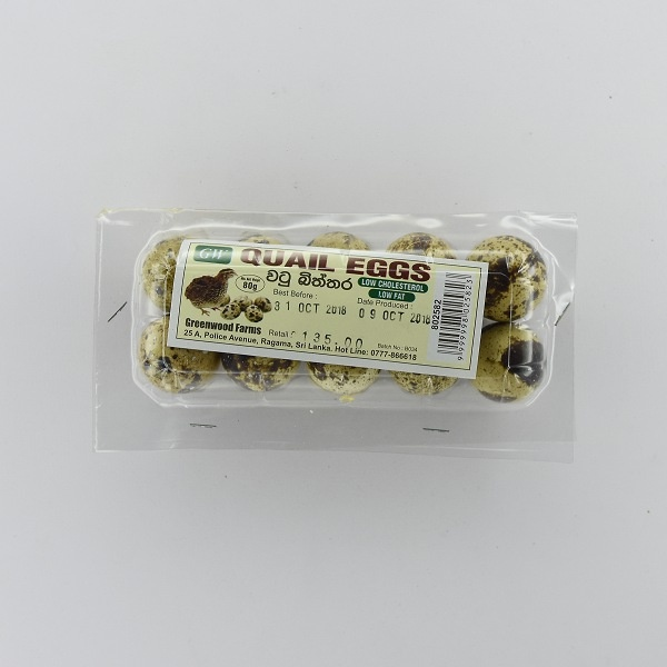Gw Fresh Quail Eggs 80G - in Sri Lanka
