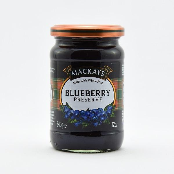 Mackays Scottish Blueberry Jam Preserve 340g - MACKAYS - Spreads - in Sri Lanka