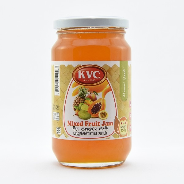Kvc Jam Mixed Fruit 450G - in Sri Lanka